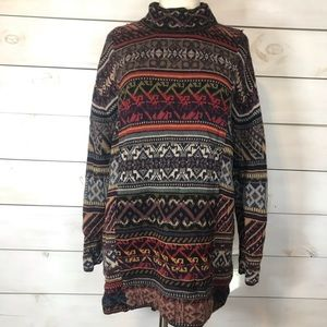 Peruvian Connection   Alpaca Fair Isle Sweater